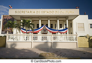 government building dominican republic - government building...