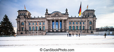 government building - Reichstag building in Berlin
