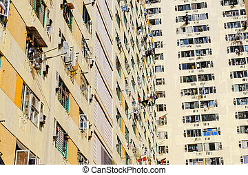 Government built residential buildings