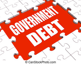 Government Debt Puzzle Shows Nation Penniless And Bankrupt