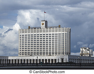 Government house of the Russian Federation in Moscow