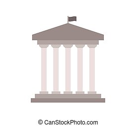 government icon on white background
