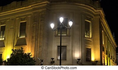 Government Or Federal Building At Night