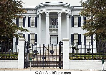 governor's, mansão, em, jackson