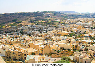 Gozo, Malta island - Landmark of Gozo Island in Malta, South...