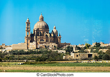 Gozo church. Malta.