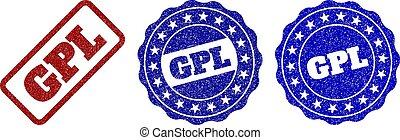 GPL Scratched Stamp Seals
