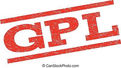 GPL Watermark Stamp