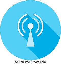 GPRS, technology, mobile icon vector image. Can also be used for phone and communication. Suitable for use on web apps, mobile apps and print media.