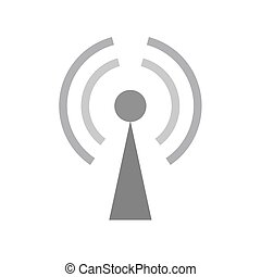 GPRS Signals - GPRS, technology, mobile icon vector image....