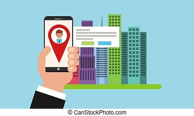 gps, application, navigation