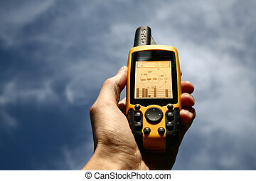 Handheld Global Positioning System Device