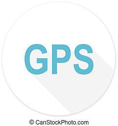 gps flat design modern icon