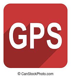 gps flat icon
