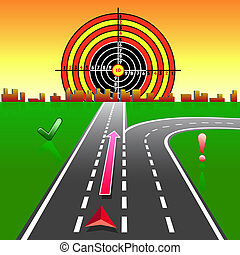 gps, navigateur, carte, rues