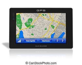 gps, navigationsoffizier