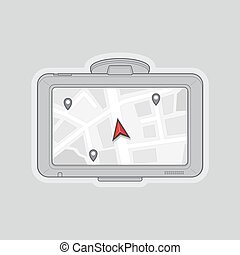 gps, navigatore