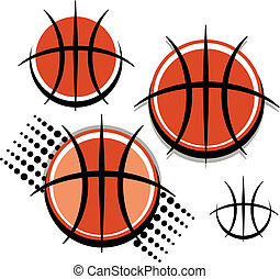 gráfico, basquetebol