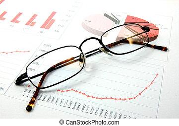 gráfico, económico