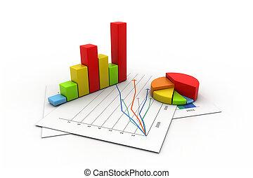 gráfico, gráfico, empresa / negocio