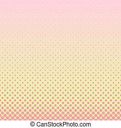 gráfico, gradiente, padrão, -, halftone, vetorial, fundo, ponto