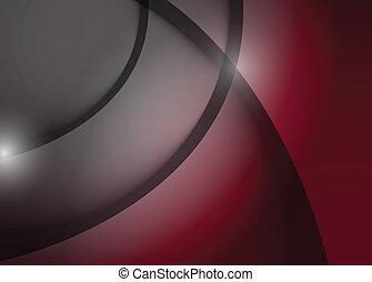 gráfico, líneas, gris, ilustración, onda, borgoña