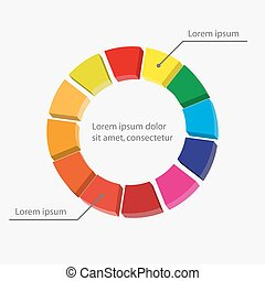 gráfico, modelo, negócio, workflow, mapa torta, infographics, passo, desenho, progresso, site web, layout., apresentação, ou, relatórios