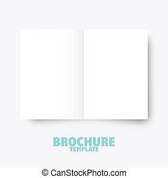 gráfico, negócio, publicar, presentation., desenho, modelo, folheto, trifold, elementos