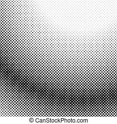 gráfico, padrão, -, halftone, vetorial, desenho, fundo, ponto