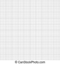gráfico, paper., seamless, milímetro, ingeniería, vector, fondo cuadrícula