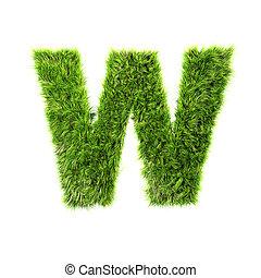 gräs, brev
