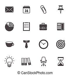 grå, ämbete ikon