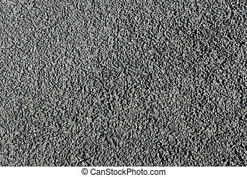 grå, gammal, asfalt, abstrakt, struktur, bakgrund.