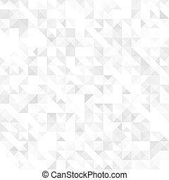 grå, geometrisk, struktur, seamless