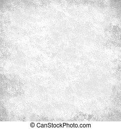 grå, kanfas, grunge, papper, lätt, abstrakt, brytning, struktur, papper, svart fond, årgång, monokrom, vit, gräns, pergament, struktur