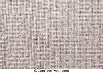 grå, linne, tyg, kanfas, bakgrund, avskrift tomrum, design,...