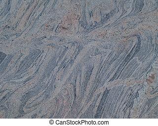 grå, marbled, grunge, struktur