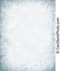 grå, och, vit, grunge