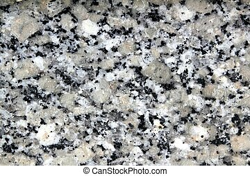 grå, stena textur, närbild, granit, vit, svart