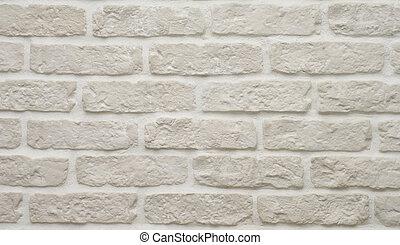 grå, tegelsten vägg