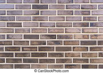 grå, vägg, mönster, struktur, bakgrund., tegelsten