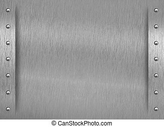 grænse, tekstur, aluminium, nitter