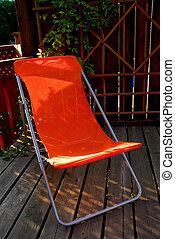 græsplæne stol