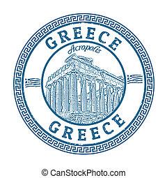 grécia, selo