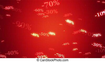 größer, sale)., prozentsätze, herbst, rabatte, kaufen,...