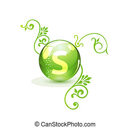 grön, alternativ, begrepp, medicinsk behandling