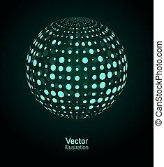 grön, ball., digital