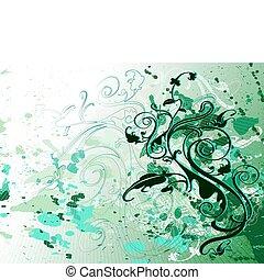 grön, design