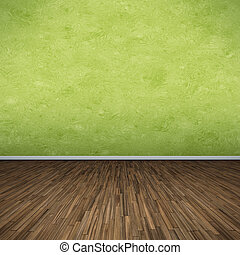 grön, golv