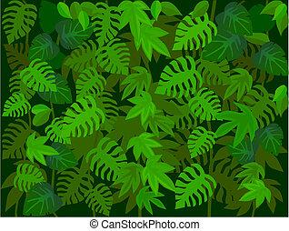 grön leaf, bakgrund